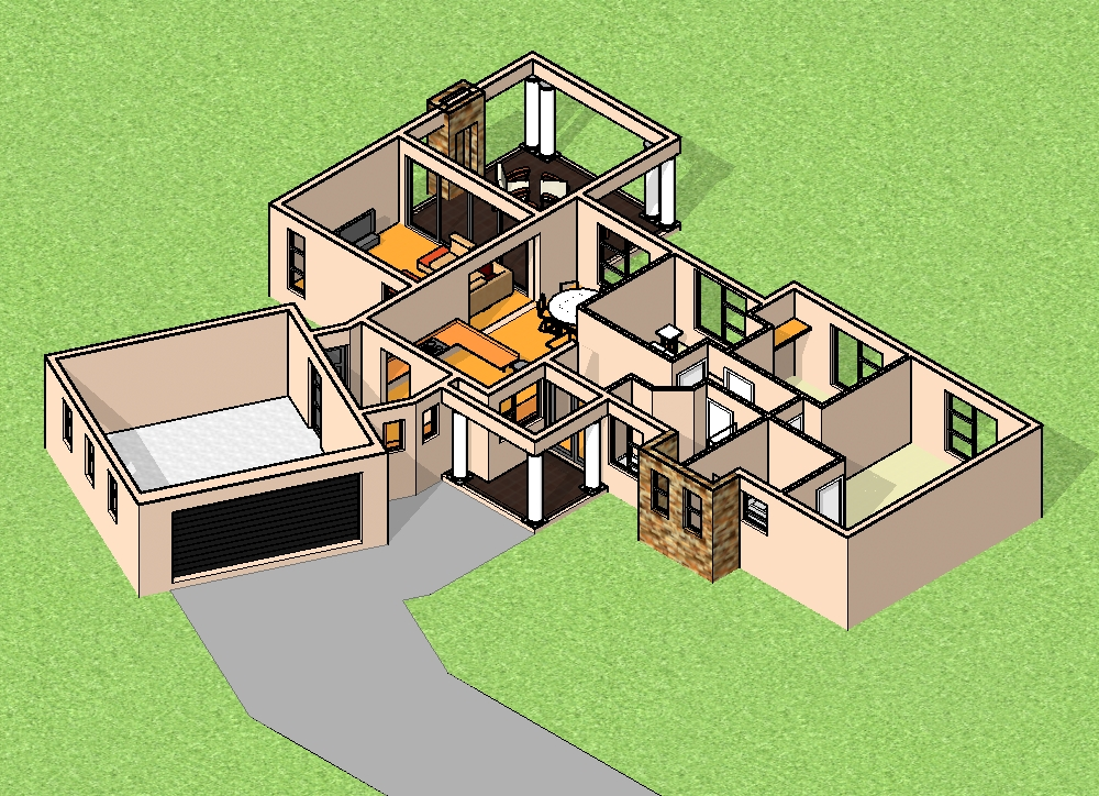 3 Bedroom House Plan With Photos | House Design Ideas ...