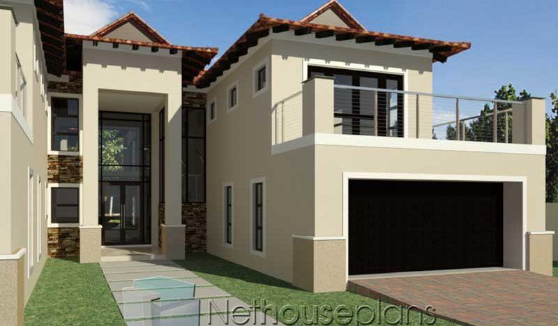 Three Bedroom House Small L Shaped House Plans 3d Novocom Top