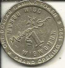 A Dollar Coin from Mohegan Sun Opening