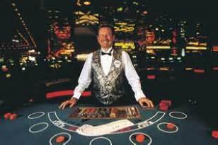 Happy Blackjack Dealer