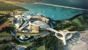 Casino Resort near Airport.  Project is licensed in Korea.