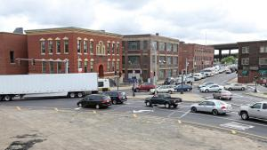 View of the Sullivan Square Rotary.  (photo by Stuart Cahill)