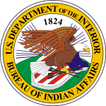 Seal of the United States Bureau of Indian Affairs