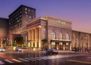 New Entrance renderings for MGM Springfield