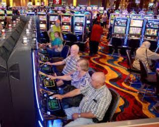Plainridge Casino Floor