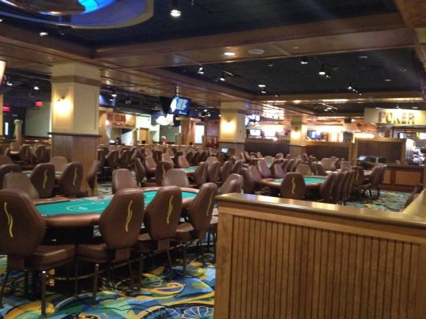 Twin River Casino Poker Room