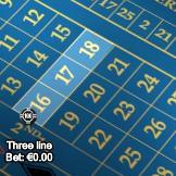 Street-bet in Roulette