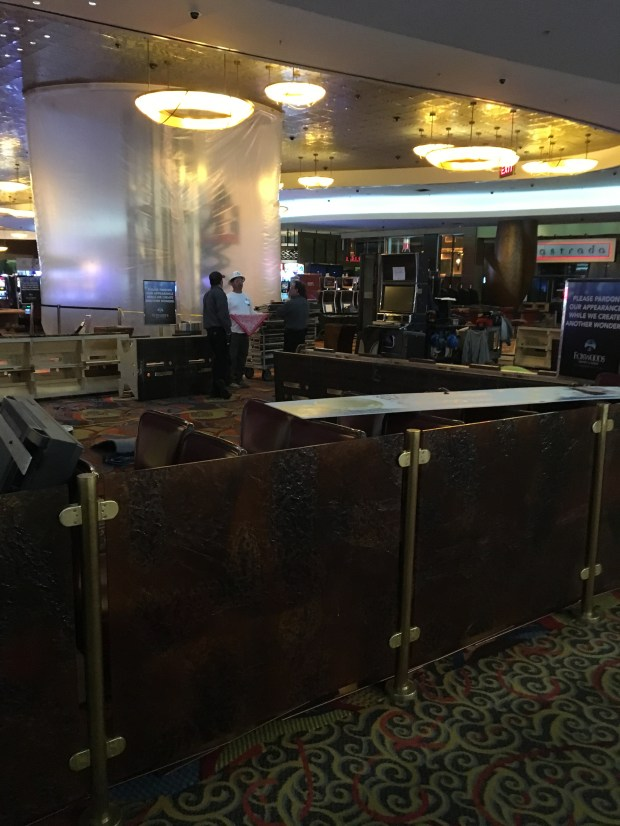 Video Poker area in front of Retail Shops,