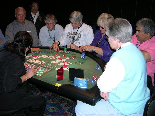 Blackjack players