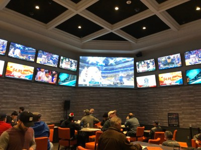 Inside the Twin River Casino Sports Book
