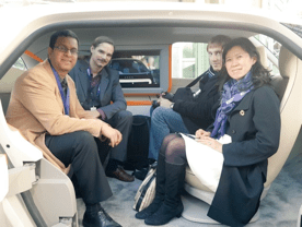 """Low-carbon technologies presented at the """"Solutions COP21"""" exposition"""