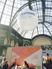 """""""Solutions COP21"""" exhibition at the Grand Palais"""