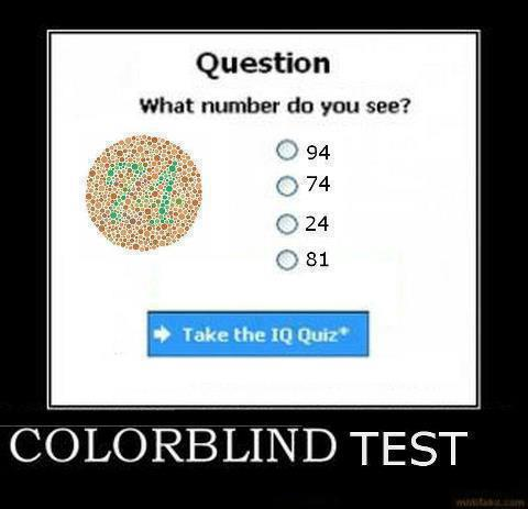 Facebook Puzzle – colorblind test