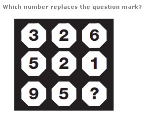 Facebook Logic puzzle- which number