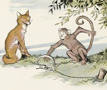 लोमड़ी और बंदर की मज़ेदार कहानी