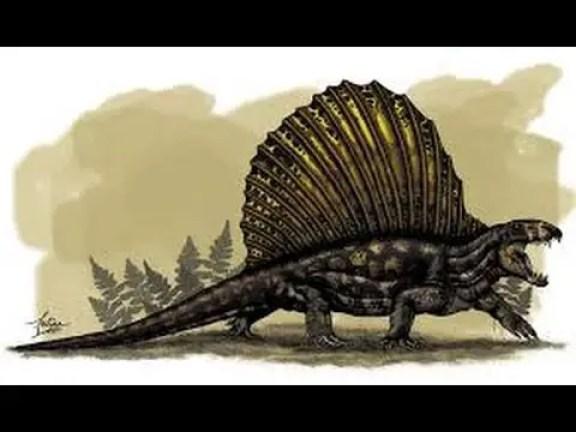 Dimetrodon hindi, Dimetrodon ki jankari, Dimetrodon dinosaur in hindi