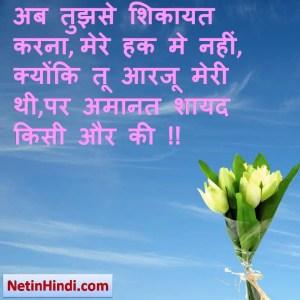Aarzoo status, Aarzoo status picture, Aarzoo status images अब तुझसे शिकायत करना, मेरे हक मे नहीं, क्योंकि तू आरजू मेरी थी,पर अमानत शायद किसी और की !!