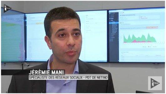 Interview de Jérémie Mani (Netino) sur i-Télé