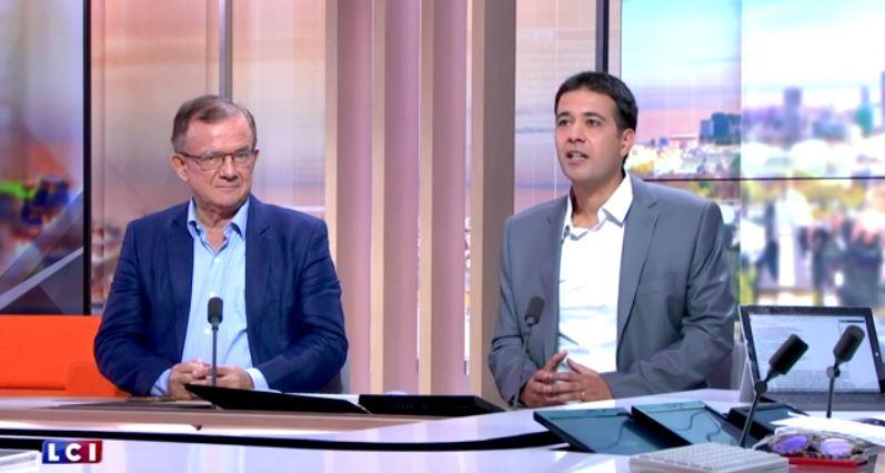 Jérémie Mani était l'invité de la Médiasphère du 18 Juillet sur LCI