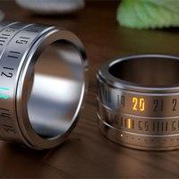 L'objet geek: Ring Clock, bague ou montre au doigt?...