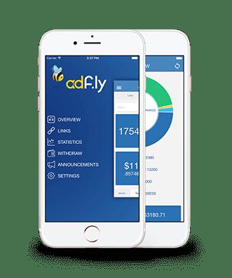 Adf.ly Hadir di App Android: Nyari Receh Makin Gampang dss