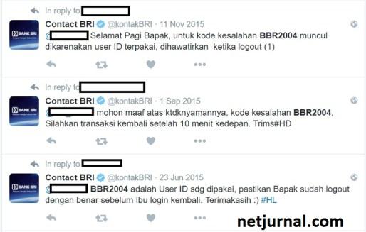 Daftar 7 Kode Kesalahan Internet Banking BRI dan Solusinyab r