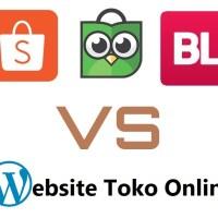 Kelebihan dan Kekurangan Jualan di Marketplace dan Website Toko Online Sendiri 1
