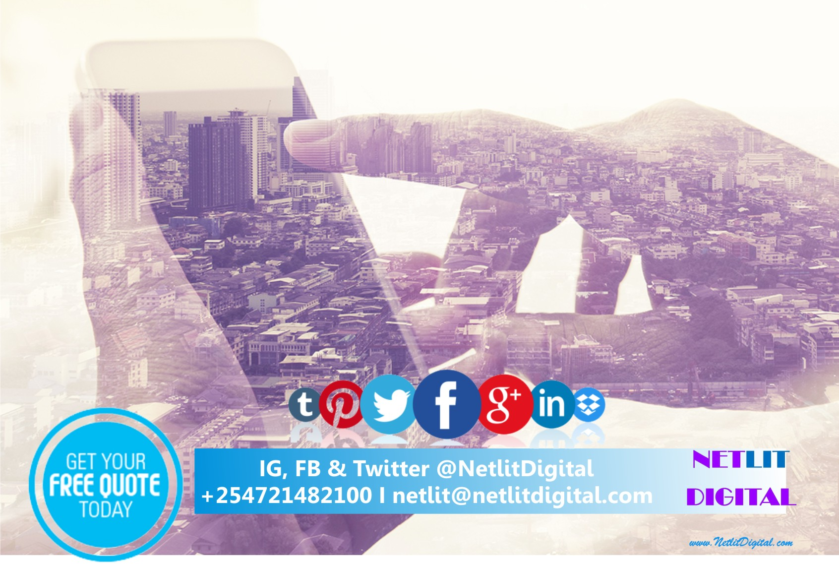 Netlit Digital marketing web agency Kenyao