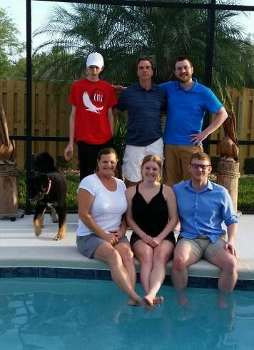Andrew Family Pic