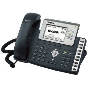 Executive IP Phone with PoE-SIP-T28P