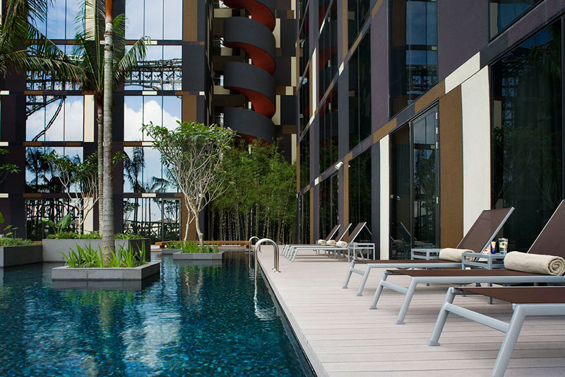 Image result for Crowne Plaza Hotel, Changi Airport