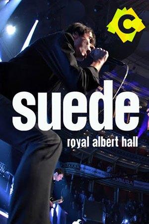 Suede – The Royal Albert Hall. El cantante Brett Anderson con microfono en mano en un momento de la actuación en el Royal Albert Hall