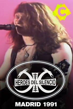 Héroes Del Silencio - Hipódromo de la Zarzuela. Enrique Bunbury con chaleco de cuero y guitarra