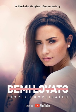 Demi Lovato - Simply Complicated. demi lovato pelo negro largo y vestido blanco
