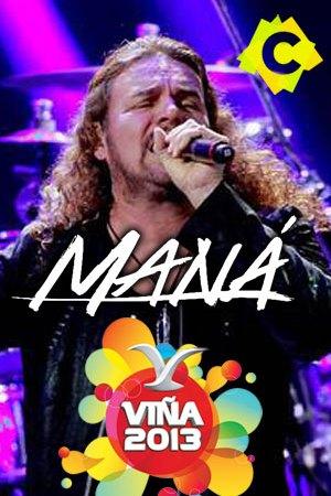 Fher Olvera cantante de Maná - Festival De Viña cantando en directo