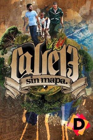 Calle 13 - Sin Mapa - collage de imágenes con calle 13 en el medio