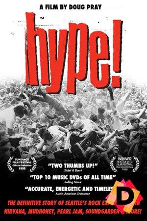 Hype! - El Documental Del Grunge . gente bailando un pogo