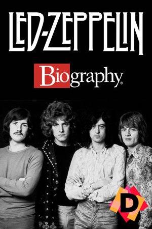 Led Zeppelin - Biography. los led zeppelin foto de ellos en blanco y negro.