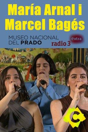 María Arnal i Marcel Bagés - Museo del Prado. María Arnal y dos chicas cantando