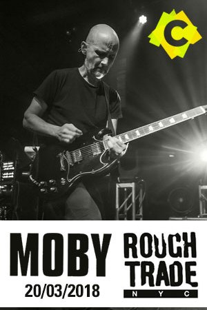 Moby - Concierto Rough Trade, New York 2018