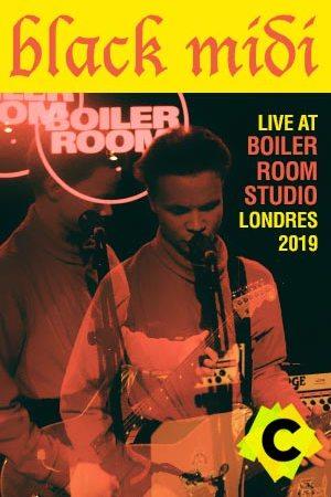 Black Midi Concierto Boiler Room Studios, London 2019