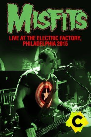 Misfits - Concierto Live At The Electric Factory, Philadelphia 2015