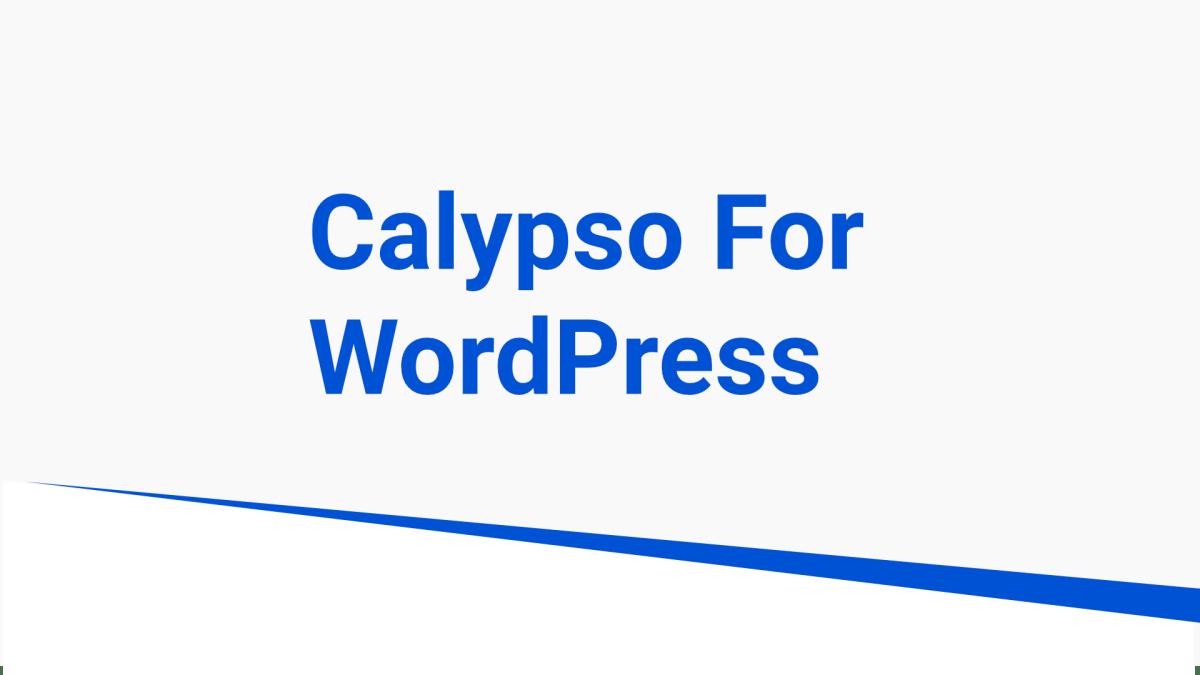 calypso for wordpress