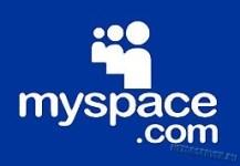 социальная сеть myspace - logo