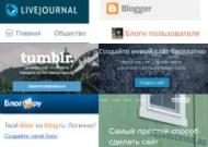 Блог-платформы лого