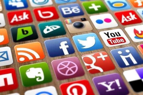 Popular media sites: youtube, twitter
