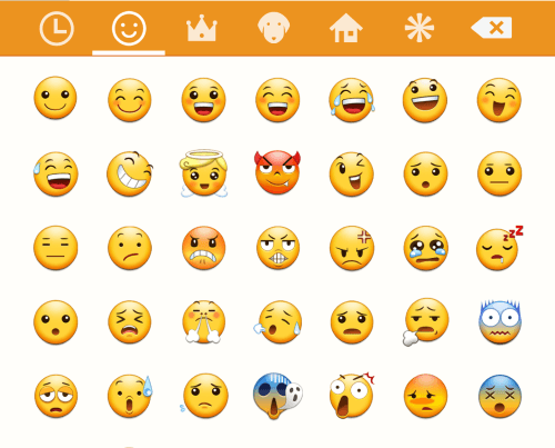 how emoticons looks