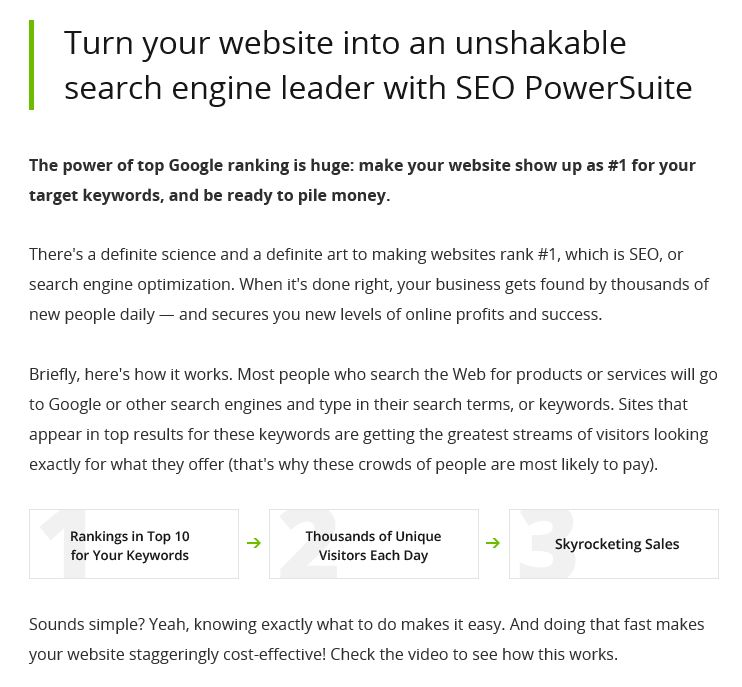 powersuite seo lead