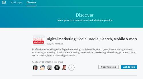 LinkedIn discover