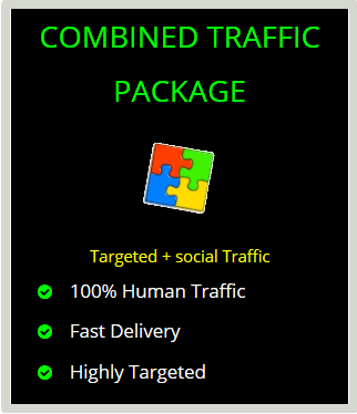 combined website traffic
